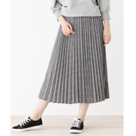 SHOO・LA・RUE / シューラルー チェックロングプリーツスカート