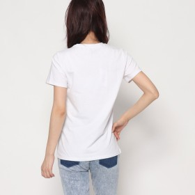 Tシャツ - GUESS【WOMEN】 [GUESS] CHENILLE LOGO S/S TEE