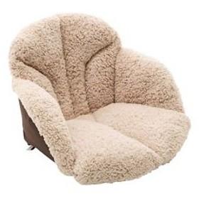 コジット  腰を包む座れる毛布 ベージュ