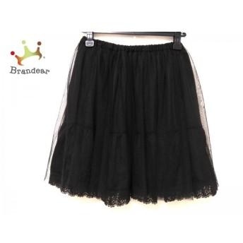 アダムエロペ Adam et Rope スカート サイズ38 M レディース 美品 黒 スペシャル特価 20190526