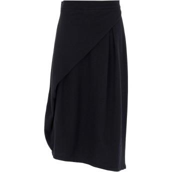 《9/20まで! 限定セール開催中》PRIMORDIAL IS PRIMITIVE レディース 7分丈スカート ブラック XS ウール 70% / ポリエステル 30% GONNA