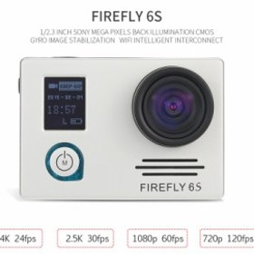 Hawkeye Firefly 6S 4K ウルトラHD Wi-Fi アクションスポーツカメラ ディストーションモデル
