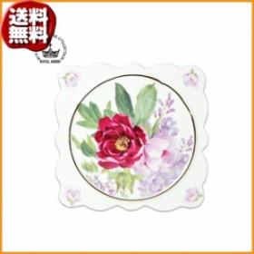 (送料無料)ロイヤルアーデン 陶器シリーズ パンマット(鍋敷) バラ柄C 37477
