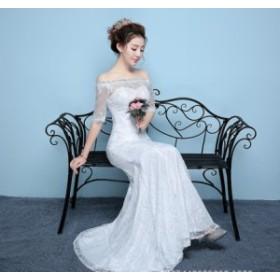 7bc51663c9cc5 Wedding dress ウエディングドレス ロングドレス マーメイドラインドレス パーティー 安い