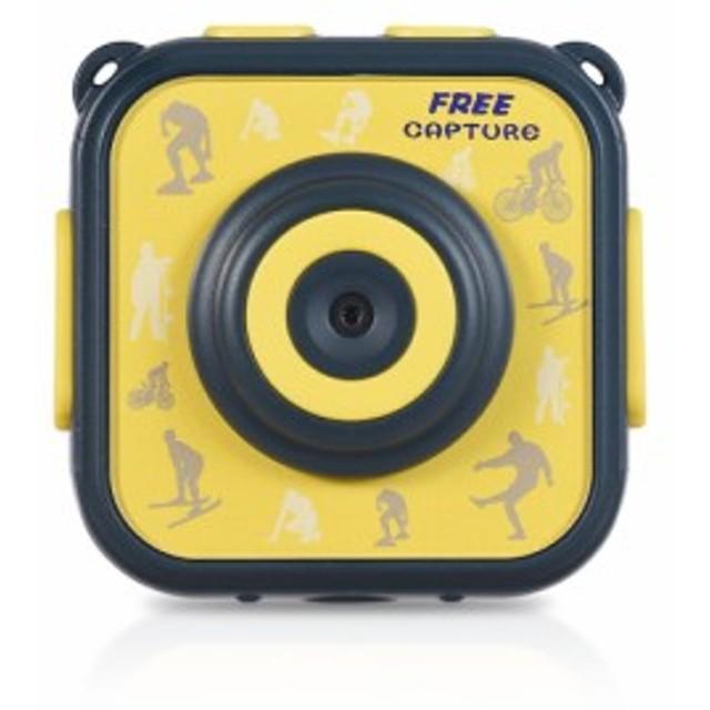 子供用 スポーツアクションカメラ 720P 1.77インチ液晶画面 15m防水