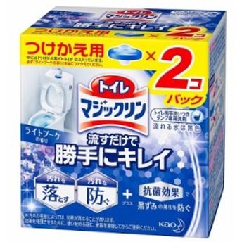 花王 トイレマジックリン 流すだけで勝手にキレイ ライトブーケの香り つけかえ用 80g×2個