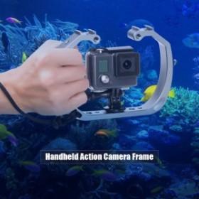 GoPro Hero 5/4/3+/3 アクションカメラ対応 アルミニウム製 ビデオ マウント ケージリング