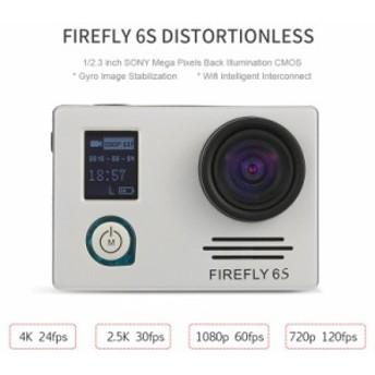 Hawkeye Firefly 6S 4K ウルトラHD Wi-Fi アクションスポーツカメラ ディストーションなしモデル