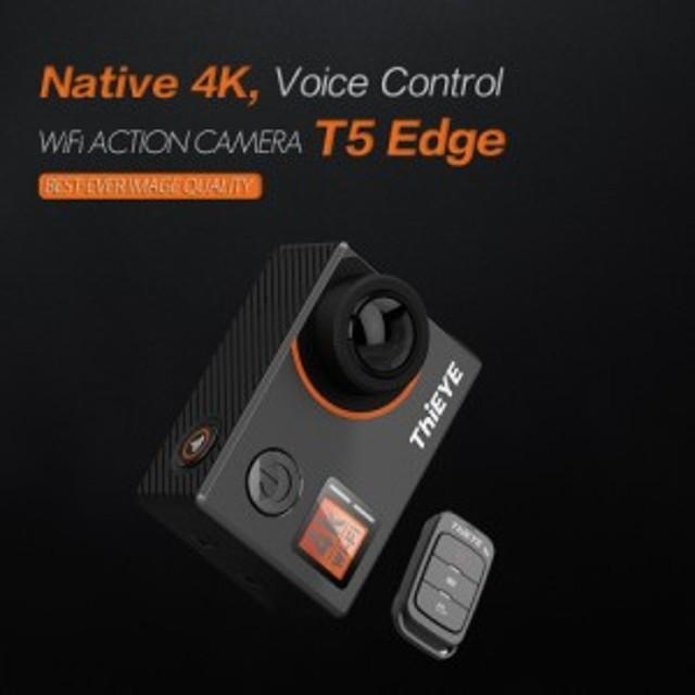 ThiEYE T5エッジ 4K Wi-Fiアクションスポーツカメラ