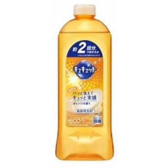 花王 キュキュット オレンジの香り つめかえ用 385ml