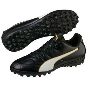 サッカーシューズ メンズ クラシコ C II TT プーマ PUMA 105013-01 黒 ブラック×ホワイト トレーニングシューズ フットサルシューズ 人工芝