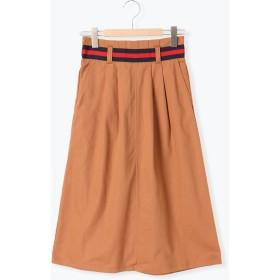【5,000円以上お買物で送料無料】ベルト付スカート