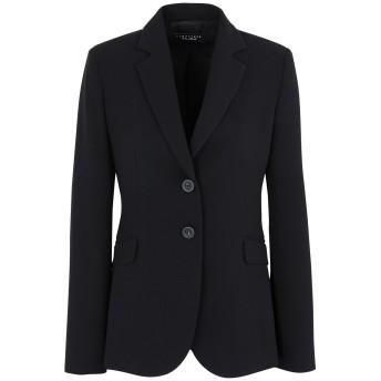 《セール開催中》CARACTRE レディース テーラードジャケット ブラック 44 ポリエステル 100%