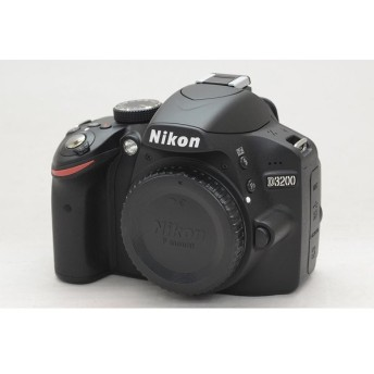 [中古] デジタル一眼レフカメラ Nikon D3200 ブラック