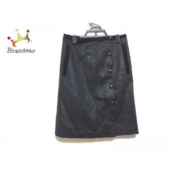 ボディドレッシングデラックス スカート サイズ38 M レディース ダークグレー×黒               スペシャル特価 20191112