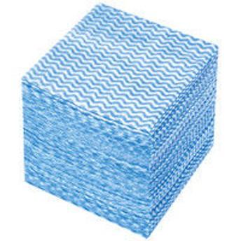 使いきりカウンタークロス ミニ ブルー 1パック(100枚入)