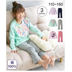 パジャマ キッズ 綿100% プリント 女の子 子供服  身長110〜160cm ニッセン
