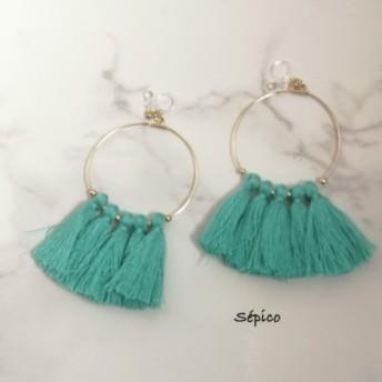 tassel earrings 078