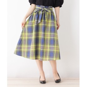 ひざ丈スカート - grove 共リボン付きTRCKアソートSKスカート