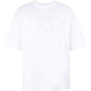 《期間限定セール開催中!》PUMA メンズ T シャツ ホワイト S コットン 100% Downtown Tee Puma White