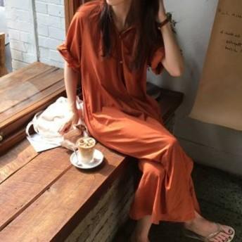 ロング シャツワンピース ウエストマーク 大人カジュアル オシャレ レディースファッション 着回し ママファッション ママコーデ