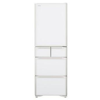 日立 5ドア冷蔵庫(501L・右開き) R−S50J−XW クリスタルホワイト (標準設置無料)