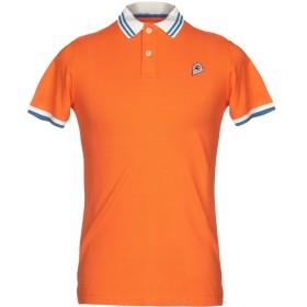 《セール開催中》INVICTA メンズ ポロシャツ オレンジ S コットン 100%
