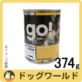 GO! SS GRAIN FREE ダックパテ缶 374g