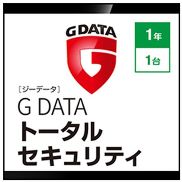 ジャングルG DATA トータルセキュリティ 1年1台 [Win ダウンロード版]DLGDATATS1ネン1ダイWDL