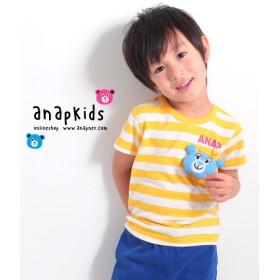 ANAP kids キャラクターぬいぐるみ付きTシャツ