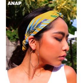 【セール開催中】ANAP(アナップ)トロピカル柄ヘアーバンド