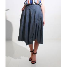 【セール開催中】ANAP(アナップ)デニムカットオフバルーンスカート