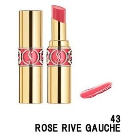 イヴサンローラン ルージュ ヴォリュプテ シャイン 43 ROSE RIVE GAUCHE 4.5g- 定形外送料無料 -wp