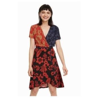 デシグアル Desigual ウィメンズ ドレス(半袖) (ブルー系)