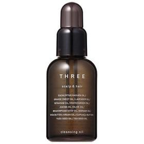 スリー THREE スキャルプ&ヘア クレンジング オイル 60ml 化粧品 コスメ SCALP & HAIR CLEANSING OIL