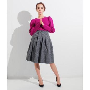 【セール開催中】ANAP(アナップ)ツイードメモリータックギャザースカート
