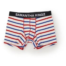 キングズバイサマンサタバサ KZインナー3色ボーダー メンズ レッド FREE 【KINGZ by Samantha Thavasa】
