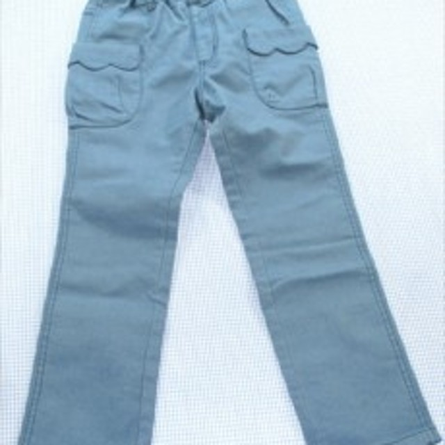 77de6b0c7ba8c 丸高衣料 パンツ 長ズボン 130cm 青系 女の子 キッズ ボトムス 子供服 通販 買い取り