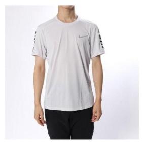 ナイキ NIKE メンズ 陸上/ランニング 半袖Tシャツ クール マイラー グラフィック トップ 928378092 (ホワイト)