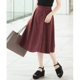 AG by aquagirl ポリエステル素材 フェイクスウェードスカート