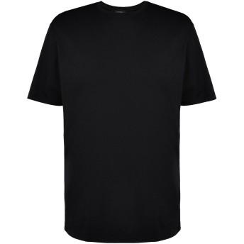 《期間限定セール開催中!》SELF MADE by GIANFRANCO VILLEGAS メンズ T シャツ ブラック 50 コットン 100%
