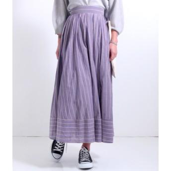 【セール開催中】ANAP(アナップ)ストライプ柄スカート