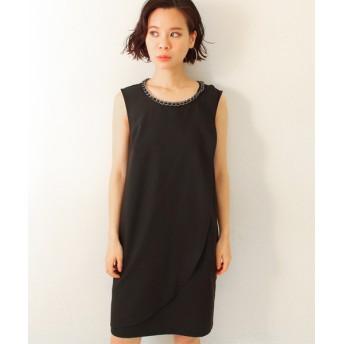 【セール開催中】ANAP(アナップ)チェーントリミングラップドレス
