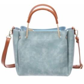 bb3a7c5eefa0 【セット品】シンプル 2WAY ショルダーバッグ ハンドバッグ レディース bag (バッグ、ラッピング)
