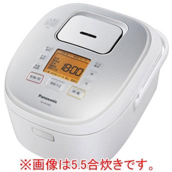 パナソニックIH炊飯ジャー(1升炊き)KuaLホワイトSR-HB18E6-W