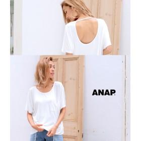 【セール開催中】ANAP(アナップ)BACKオープンポケットTシャツ