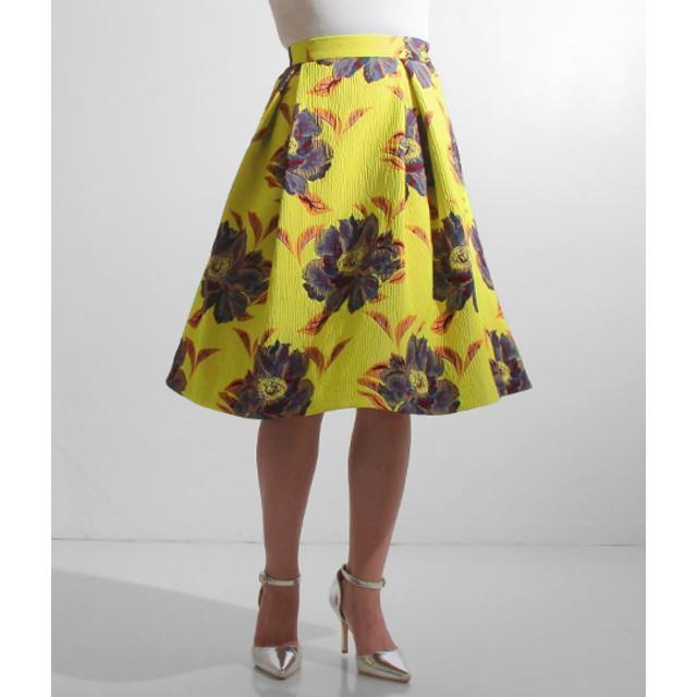 【セール開催中】ANAP(アナップ)ビッグフラワージャガードスカート