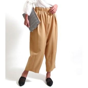 【セール開催中】ANAP(アナップ)ポリエステルツイル裾ダーツパンツ