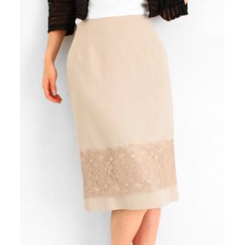【セール開催中】ANAP(アナップ)ダブルサテンヒゲレースタイトスカート
