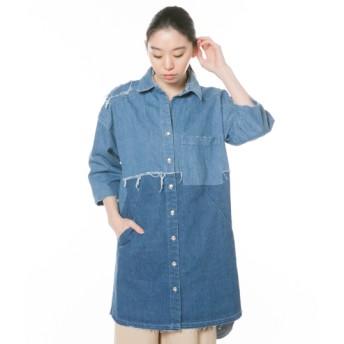 【セール開催中】ANAP(アナップ)リメイクデニムシャツジャケット